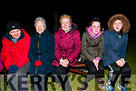 Dawn Mass; Attending the Easter Sunday Dawn Mass in Kiltomey Graveyard, Lixnaw were Bobby O'Brien, Rita O'Brien, Bridget McCarthy, Abby Fagan & Molly McElligott.