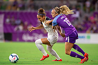 Orlando, FL - Saturday June 01, 2019: 2019 NWSL regular season home game between the Orlando Pride and the North Carolina Courage FC at Orlando City Stadium.