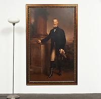 "Gruen: Portrait Of Aldo Krupp, Digital Print, Dims. 76"" x 50"" x 1.5"""