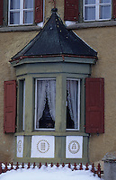 Europe/Suisse/Engadine/Sils Baseglia: Vieille maison
