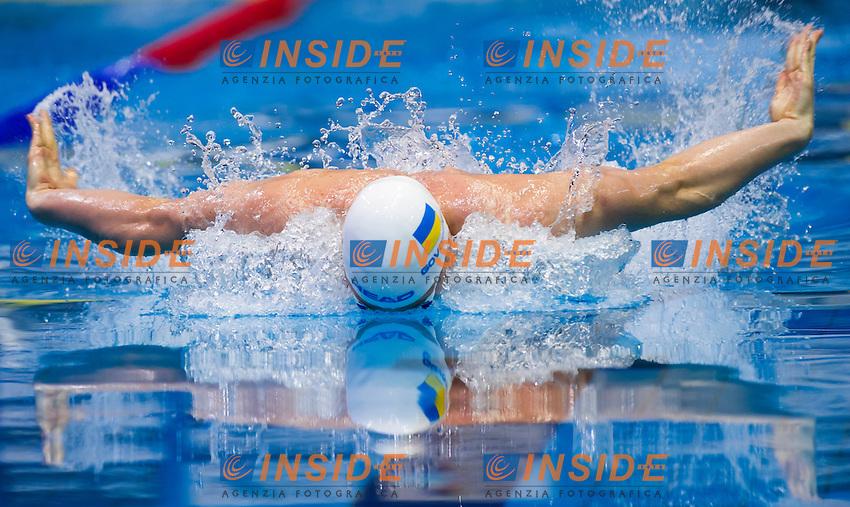 GOVOROV Andriy UKR <br />Men's 50m butterfly semifinal<br />Netanya, Israel, Wingate Institute<br />LEN European Short Course Swimming Championships <br />Dec. 2 - 6, 2015 <br /> Netanya 05-12-2015<br />Nuoto Campionati Europei di nuoto in vasca corta<br />Photo Giorgio Perottino/Deepbluemedia/Insidefoto