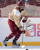 Delaney Belinskas (BC - 17) - The Boston College Eagles practiced at Fenway on Monday, January 9, 2017, in Boston, Massachusetts.Delaney Belinskas (BC - 17) - The Boston College Eagles practiced at Fenway on Monday, January 9, 2017, in Boston, Massachusetts.
