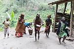 Batwa Pygmies Ritual Dance