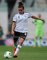 Lina Magull of Germany in action during the UEFA Womens U19 Semi-Final at Parc y Scarlets Wednesday 28th August 2013. All images are the copyright of Jeff Thomas Photography-www.jaypics.photoshelter.com-07837 386244-Any use of images must be authorised by the copyright owner.