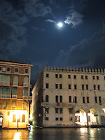 Moon over the Grand Canal - Venice