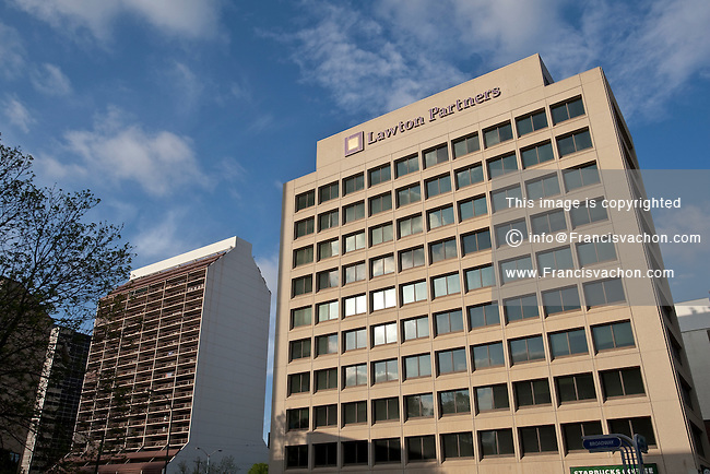 Lawton Partners Financial Planning Services headquarters is pictured in Winnipeg Sunday May 22, 2011.