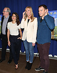 Tracy Letts, Marisa Tomei, Toni Collette and Michael C. Hall attending 'The Realistic Joneses'  Meet & Greet  at The New 42nd Street Studios on February 20, 2014 in New York City.