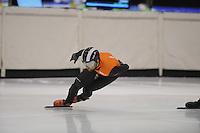SCHAATSEN: HEERENVEEN: 29-01-14-2013, IJsstadion Thialf, Training Schorttrack Olympische selectie, ©foto Martin de Jong