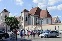 St.Georg Kircheund Kloster in Kaunas, Litauen, Europa