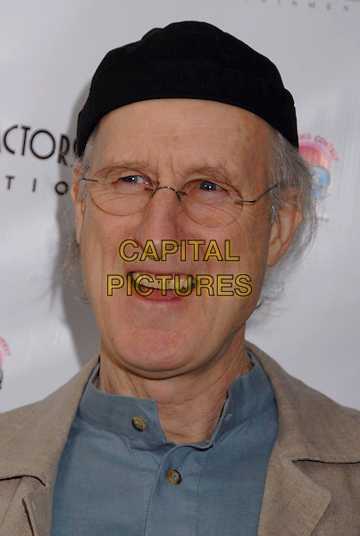 "JAMES CROMWELL.The Screen Actors Guild Foundation and Zimand Entertainment host prize-winning ceremony for Los Angeles Children's ""Love Equals"" writing contest held at the Beverly Center, 8th Floor Food Court, ,Los Angeles, USA, 14 February 2007..portrait headshot hat glasses funny face.CAP/ADM/GB.©Gary Boas/AdMedia/Capital Pictures."