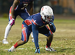 Lawndale, CA 10/14/16 - Danthony Jones (Leuzinger #4) in action during the North Torrance vs Leuzinger CIF League football game.