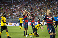 Santa Clara, CA - Wednesday July 26, 2017: USA beat Jamaica 2-1 in the 2017 CONCACAF Gold Cup final at the Levi's Stadium.