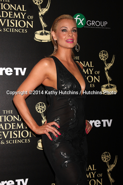 LOS ANGELES - JUN 22:  Jessica Collins at the 2014 Daytime Emmy Awards Arrivals at the Beverly Hilton Hotel on June 22, 2014 in Beverly Hills, CA