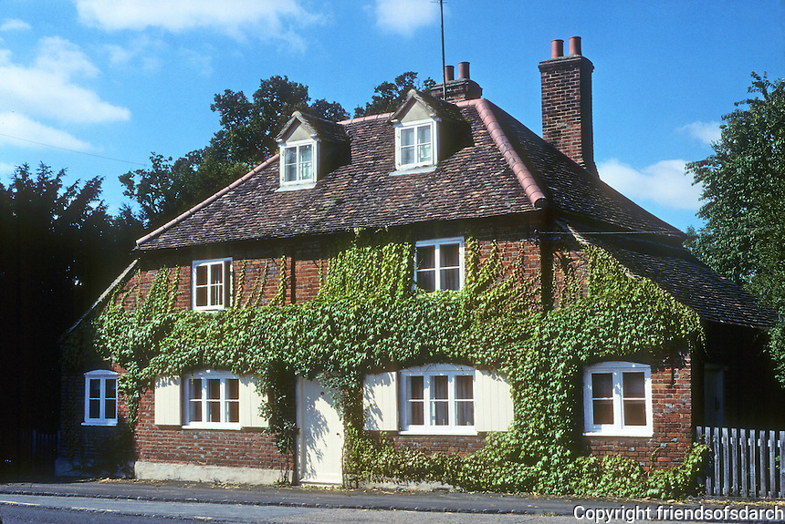 Nuneham Coutenay: Cottage. Photo '87.