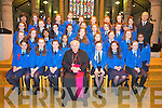 Students from Presentation primary Tralee who were confirmed by Bishop Bill Murphy at Saint Johns Church, Tralee on Friday.Front Row From Left:  Aoife Doyle, Erika O Sullivan, Mary Fitzpatrick, Bishop Murphy, Sarah Tansley, Sarah Fitzgerald, Ellie Stuart.Second Row from Left:  Roisin Moriarty, Sarah Buckley, Michelle Libutlibut, Ciara Sookarry, Jennifer Nolan, Chloe Morris, Rebecca Duggan, Megan Arnopp, Angelica Guardiano..Third Row from left:  Elena McLoughlin, Rachel Griffin, Shannon Murphy, Tammy O Shea, Chantelle O Sullivan, Rachel Farrell, Elly Winter, Sophie Fitzgerald, Rachel Quirke, .Back Row from Left:  Lilian McMahon Breen, Laura Donnelly, Hannah Mthethwa, Sophie Houlihan, Weronika Dziatkiewicz, Chantelle O Connor, Maura Adams, Lisa Heaphy, Zoe Mulqueen, Lauren Foley, Eamonn Travers.