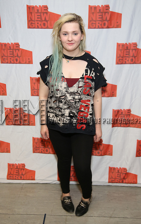 "Abigail Breslin attends the New Group's ""All the Fine Boys"" rehearsal photocall at their rehearsal studio on February 3, 2017 in New York City."