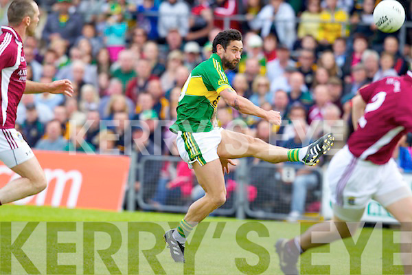 Paul Galvin Kerry v  Westmeath in Round 2 of the All Ireland qualifiers ay Cusack park in Mullingar on Sunday 15th July 2012.