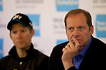 Pix: Shaun Flannery/SWpix.com<br /> <br /> 28th April 2016<br /> Tour de Yorkshire 2016<br /> Press Conference<br /> Yorkshire Air Museum, Yorkshire, England<br /> Christian Prudhomme, ASO Director of Cycling