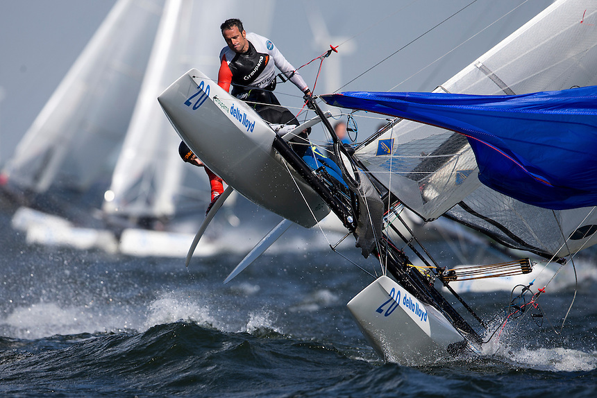 Delta Lloyd Regatta | Day 3 | CAMMAS Franck	de TURCKHEIM Sophie |  Medemblik (NED) | Photo : Guilain GRENIER