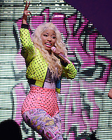 MIAMI, FL - JULY 24:  Nicki Minaj in concert at the James L. Knight Center on July 24, 2012 in Miami Florida. © mpi04/MediaPunch Inc /NortePhoto.com<br />