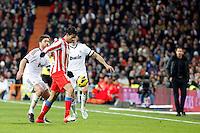 Xabi Alonso and Diego Costa during La Liga Match. December 01, 2012. (ALTERPHOTOS/Caro Marin)
