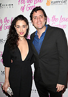 HOLLYWOOD, CA - February 12: Jade Tailor, Ben Gleib, at Premiere Of Vision Films' 'For The Love Of George' at TCL Chinese 6 Theatres in Hollywood, California on February 12, 2018. Credit: Faye Sadou/MediaPunch