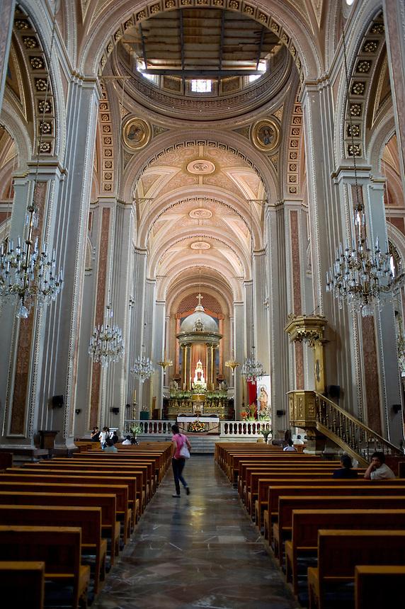 Cathedral, Morelia, Michoacan. Aromas y Sabores with Chef Patricia Quintana
