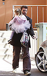 3-13-09 .Ben Affleck picking up violet from school in santa monica ca...AbilityFilms@yahoo.com.805-427-3519.www.AbilityFilms.com