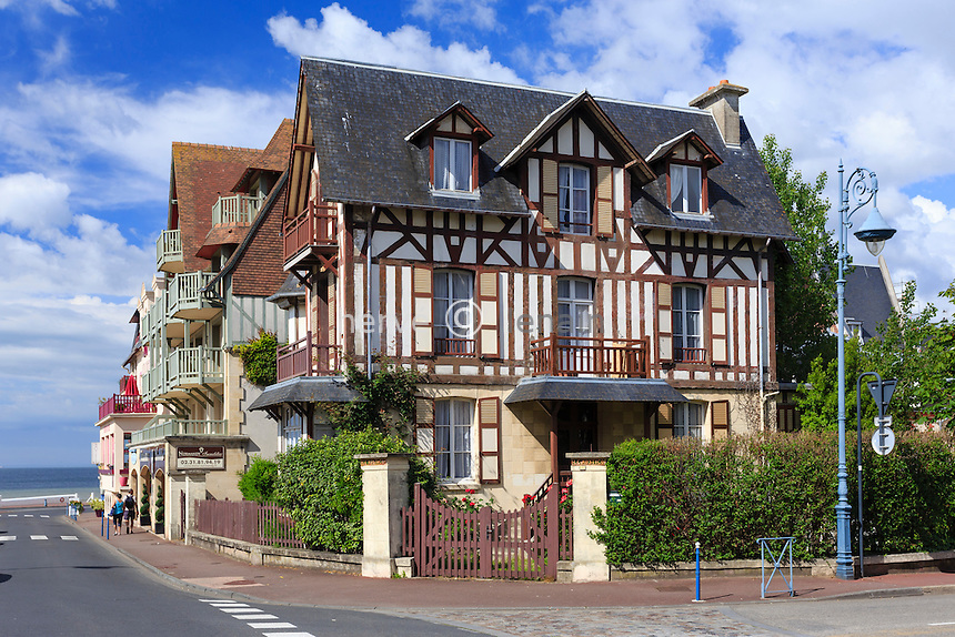 France, Calvados (14), Villers-sur-Mer, villa // France, Calvados, Villers sur Mer, villa