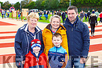 Betty, Liam, Shane Anne and Patrick O'Rourke at the Miriam Joy family funday inAn Riocht Castleisland on Sunday
