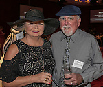 Richelle and Mark O'Driscoll during the Kentucky Derby Party at The Peppermill on Saturday, May 6, 2017 in Reno, Nevada.