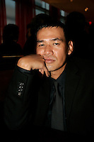 Sept 21 , 2005, Montreal (Qc) Canada<br /> <br /> Japanese actor and film maker SABU pose for a photo September 21 in Montreal<br /> Photo : (c) 2005 Pierre Roussel
