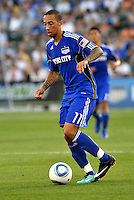 Ryan Smith...Kansas City Wizards defeated New England Revolution 4-1 at Community America Ballpark, Kansas City, Kansas.