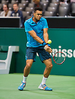 12-02-14, Netherlands,Rotterdam,Ahoy, ABNAMROWTT, Jo-Wilfried Tsonga (FRA)  <br /> Photo:Tennisimages/Henk Koster
