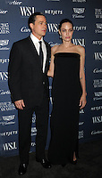 Angelina Jolie Pitt and  Brad Pitt attends WSJ. Magazine Innovator Awards at Museum of Modern Art   on November 5, 2015 in New York. Credit: Dennis Van Tine/MediaPunch