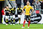 Solna 2015-07-26 Fotboll Allsvenskan AIK - IF Elfsborg :  <br /> Elfsborgs Sebastian Holm&eacute;n deppar efter 1-0 av AIK:s Henok Goitom under matchen mellan AIK och IF Elfsborg <br /> (Foto: Kenta J&ouml;nsson) Nyckelord:  AIK Gnaget Friends Arena Allsvenskan Elfsborg IFE depp besviken besvikelse sorg ledsen deppig nedst&auml;md uppgiven sad disappointment disappointed dejected