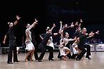 """07.12.2019,  GER; Tanzen, WDSF Weltmeisterschaft der Lateinformationen, Zwischenrunde, im Bild XS Latin Chambridge A (ENG) mit dem Thema """"Time"""" Foto © nordphoto / Witke"""