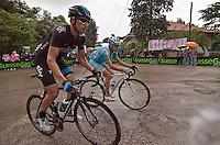 PESCARA 10/05/2013: CICLISMO. 7a TAPPA DEL GIRO D'ITALIA. PARTENZA DA MARINA DI SAN SALVO ARRIVO A PESCARA. IL PRIMO A TRANSITARE SUL TRAGUARDO è Adam Hansen (Lotto Belisol) CON UN TEMPO DI 4h35'49?. NELLA FOTO DARIO CATALDO SKY TEAM. FOTO DI ADAMO DI LORETO..10/05/2013 PESCARA: CYCLING. 7 STAGE OF ITALIAN TOUR. THE HISTORICAL PINK SHIRT RACE. STARTED FROM MARINA DI SAN SALVO FINISHED IN PESCARA CITY. THE WINNER WAS Adam Hansen (Lotto Belisol). IN PHOTO DARIO CATALDO SKY TEAM. PHOTO CREDIT ADAMO DI LORETO