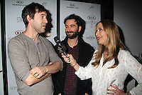 Mark Duplass, Jay Duplass, Roxy Manning<br /> KIA SUPPER SUITE BY STK hosts a cast dinner for films, THE OVERNIGHT, TANGERINE & ANIMALS, Handle Restaurant and Bar, Park City, UT 01-24-15<br /> David Edwards/DailyCeleb.com 818-915-4440