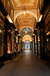 Shopping arcade near the Rathaus,Hamburg, Germany