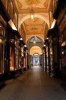 Shopping arcade near the Rathaus,Hamburg, Germany
