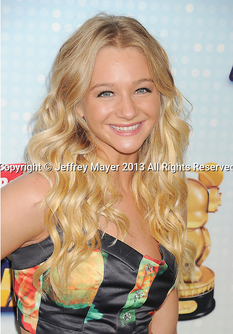 LOS ANGELES, CA- APRIL 27: Actress Mollee Gray arrives at the 2013 Radio Disney Music Awards at Nokia Theatre L.A. Live on April 27, 2013 in Los Angeles, California.