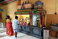 Nederland Den Helder -  2019.  Jaarlijkse tempelfeest bij de Hindoe tempel in Den Helder. Vereniging Sri Varatharaja Selvavinayagar voltooide in 2003 het gebouw dat wordt gebruikt voor het bevorderen van kunst en cultuur. Een ander deel wordt gebruikt voor het praktiseren van religieuze waarden. Het hoogtepunt van de feestperiode is het voorttrekken van de wagen ( chithira theer of ratham ). Rituelen in de tempel.   Foto mag niet in negatieve / schadelijke context gepubliceerd worden.  Foto Berlinda van Dam / Hollandse Hoogte