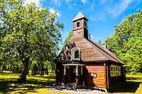 Sweden, Gotska Sandön national park. The Chapel.