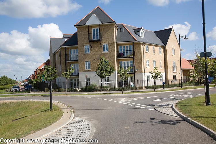Modern housing development, Ravenswood, Ipswich, England