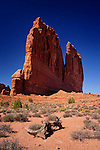 Park Avenue Towers, Arches National Park, Utah.  Available in sizes up to 30 x 45 inches.