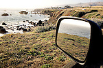 A view of the Pacific Ocean, and the Arched Rock Beach, just north of Bodega Bay along Hwy 1, on Saturday, July 31, 2010.
