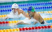 09 AUG 2008 - BEIJING, CHN - Thiago Pereira (BRA) -  Beijing Olympics. (PHOTO (C) NIGEL FARROW) *** IOC RULES APPLY ON USAGE ***