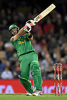 10th January 2020; Marvel Stadium, Melbourne, Victoria, Australia; Big Bash League Cricket, Melbourne Renegades versus Melbourne Stars; Glenn Maxwell of the Stars hits the ball - Editorial Use