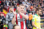 Paul Coutts of Sheffield Utd during the Championship match at Bramall Lane Stadium, Sheffield. Picture date 16th September 2017. Picture credit should read: Jamie Tyerman/Sportimage